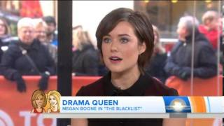 Megan Boone: 'I fought' for role on 'Blacklist'