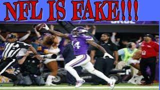NFL Is Fake Like Wrestling: SUPER BOWL EDITION
