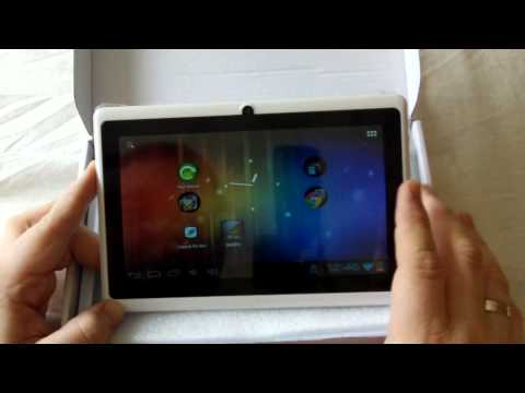 Allwinner 7inch A13 Android Tablet - Overclocked - review & games PART 1