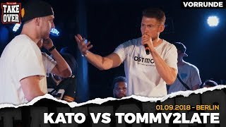 Kato vs. Tommy2Late - Takeover Freestyle Contest | Berlin 01.09.18 (VR 4/4)