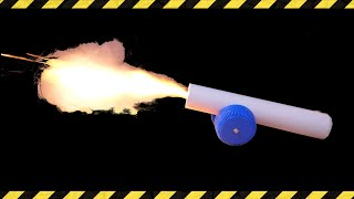 How to make a paper cannon [DIY]
