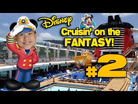 Cruisin' on the DISNEY FANTASY!!! 4K Disney Cruise Adventure PART 2