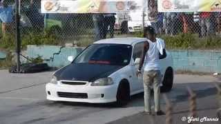 Drag Racing in Antigua: Drop Gears & Disappear [Sunday Day Clips]