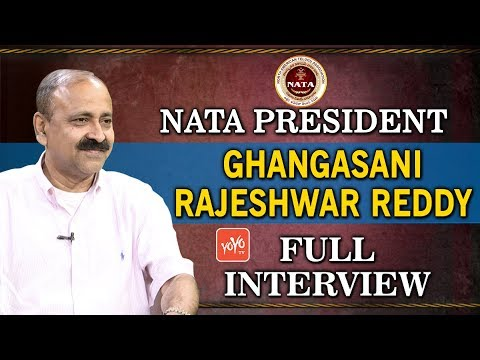 NATA President Ghangasani Rajeshwar Reddy Interview | NATA Convention 2018 | YOYO TV