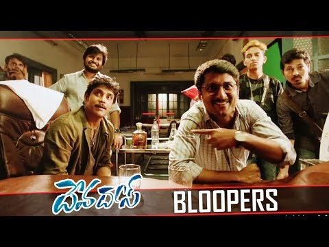 Unseen Making of Devadas Movie - #Devadas Bloopers - Nagarjuna , Nani , Rashmika Mandanna,Akanksha
