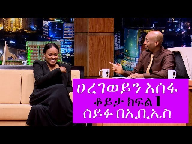 Seifu on EBS: Interview With Artist Haregewein Assefa Part 1