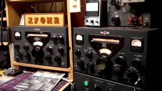 Gold Dust Twins Collins 75A-4 and KWS-1 in QSO