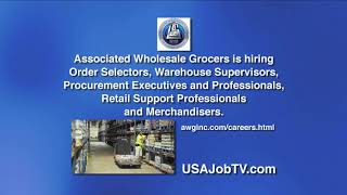 Associated Wholesale Grocers is Hiring for Midwest positions! USAJOBTV020518am