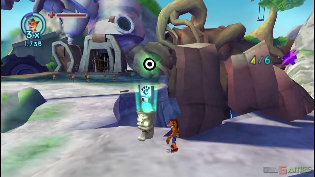 Crash Mind Over Mutant Gameplay Psp Hd 720p