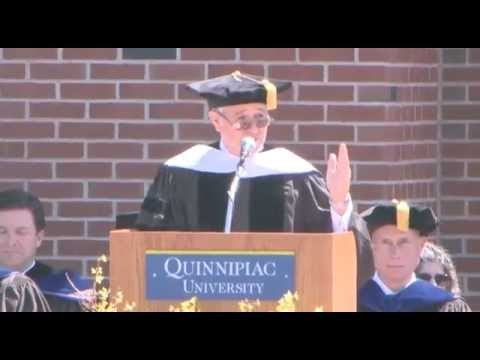 Steve Schwarzman Delivers Commencement Address at Quinnipiac