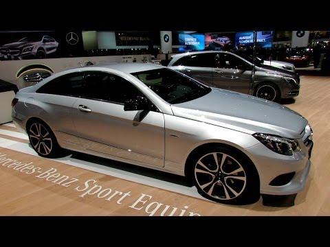 2014 Mercedes-Benz E-Class E350 Coupe - Exterior. Interior Walkaround - 2014 Geneva Motor Show