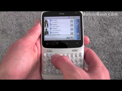 HTC ChaCha Facebook Android smartphone video review - part 1 of 2