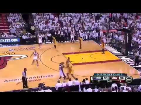 Indiana Pacers Vs Miami Heat - NBA Eastern Conference Finals 2013 Game...