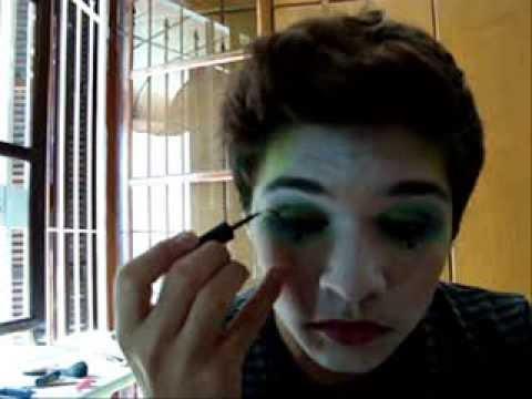 MakeUp Arlequim / Pierrot