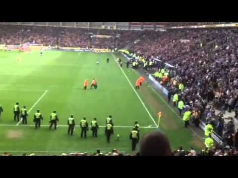 Hull city pitch invasion