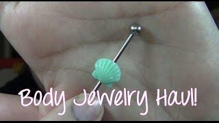 Body Jewelry Haul