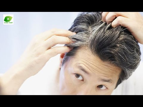 Natural Home Remedies For Grey Hair | Educational Health Tips