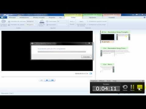 Tutorial Descargar y Utilizar Windows Live Movie Maker [2012/2013] [Win7,vista,XP]