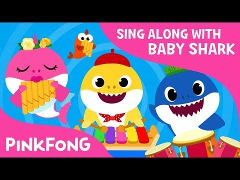 download lagu The Shark Band  Sing Along  Baby Shark gratis