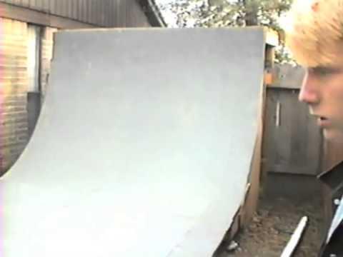 Dan MacFarlane backyard ramp 1988 southwest Houston Texas DIY skateboarding