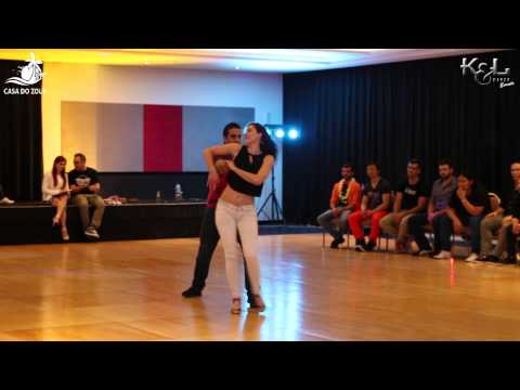 Casa do Zouk 2015 - Brazilian Zouk Intermediate J&J 4th Place