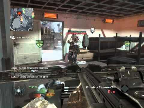 fr0z3nju1c3 - Black Ops random crossbow kill first blood twice!