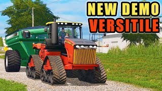 "OUR NEW ""TOY"" FOR THE DAY! VERSITILE 610DT 
