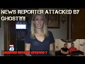 CREEPY Ghost Caught On Tape ATTACKS Fox News Reporter | Haunted Review