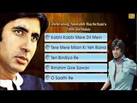 Best Of Amitabh Bachchan - Jukebox - Full Songs - Evergreen Bollywood Hits video