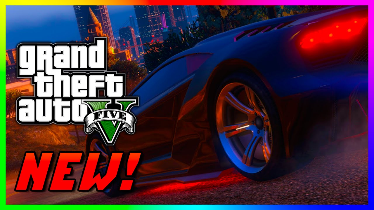 Old Classic Cars >> GTA 5 NEW NEON UNDERGLOW LIGHTS, RARE Classic Cars & Spawning DLC Cars - Zentorno Underglow MOD ...