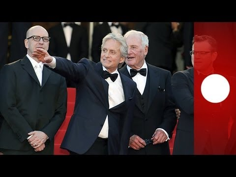 Cannes : Michael Douglas and Matt Damon alongside for