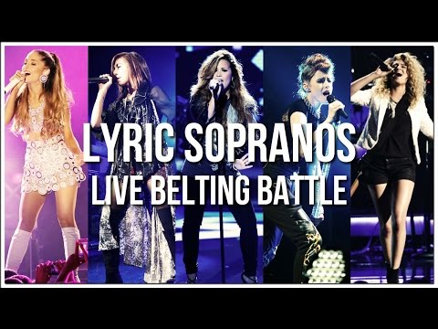 Lyric Sopranos' Live Belting Battle!
