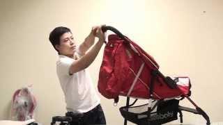 Hướng dẫn lắp ráp và sử dụng xe đẩy em bé Seebaby T04