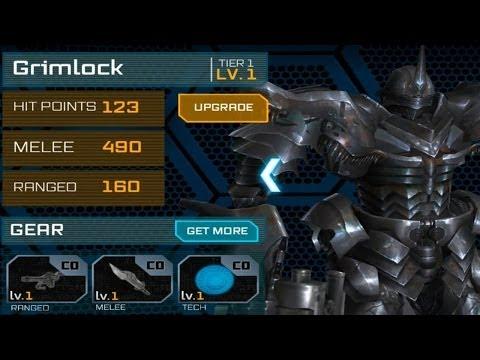 Transformers: Age of Extinction - Unlocking Grimlock
