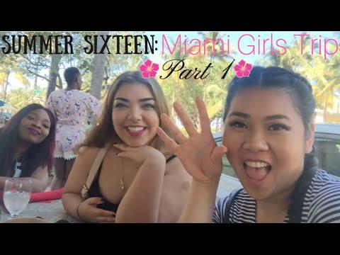 Summer Sixteen Vlog: Miami Beach Girls Trip Part 1