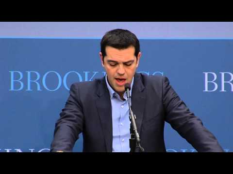 Keynote Address (untranslated) - Greek Opposition Leader Alexis Tsipras