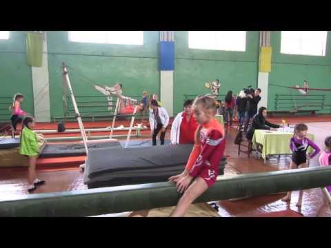 В Павлограде соревновались гимнастки