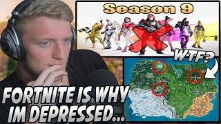 Tfue Explains Why He's Becoming Depressed & Doesn't Want To Continue Playing Fortnite...
