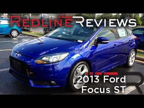 2013 Ford Focus ST Review. Walkaround. Exhaust. Test Drive