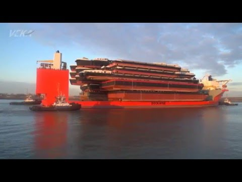Amazing ship transport VEKA / Blue Marlin (part 1)