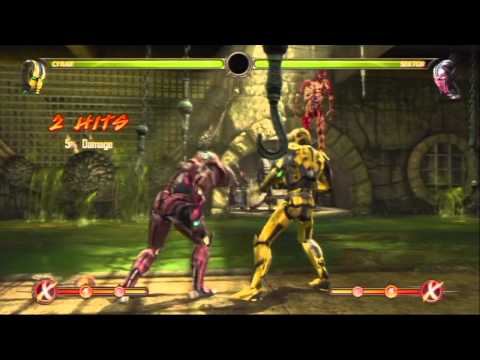 MK9 CYRAX COMBO MOVIE ROUND 5 BY TONY-T