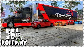 GTA 5 ROLEPLAY - Did Redline Garage Win The Drag Tournament? | Ep. 487 Civ