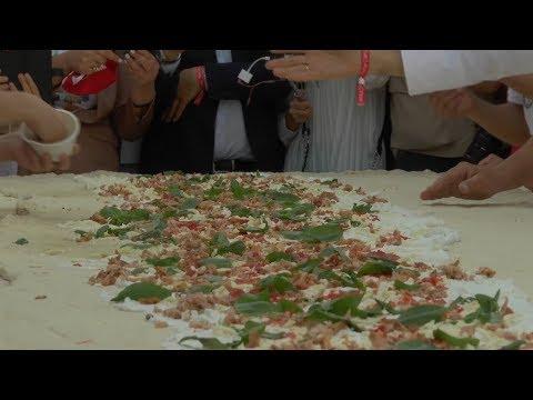 Сто пиццайоло из Неаполя поставили новый мировой рекорд