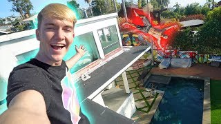 HE JUMPED FROM THE TOP ROOF!! *INSANE ROOF JUMPING*
