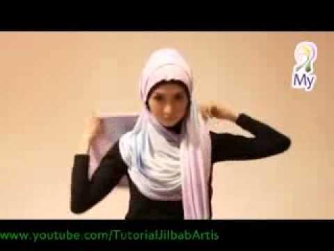 Jilbab Inspirasi Fatin - MY01 Hijab Tutorial 07 #HIJABERS
