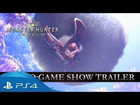 Monster Hunter: World   Tokyo Game Show Trailer   PS4