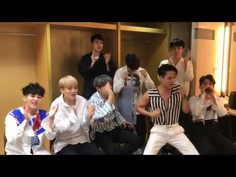 EXO SING HAPPY BIRTHDAY SONG FOR(EXOL)# 3yearAnniversaryEXOL💕