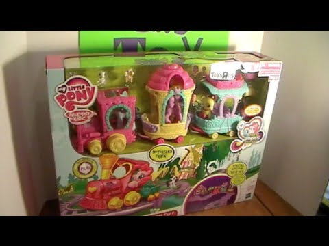 My Little Pony Friendship Express Huge Train Set Review! Toys R Us Exclusive! by Bin's Toy Bin