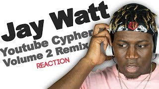 "*Sponsored* Jay Watt - Youtube Cypher Volume 2 ""Remix"" - TM Reacts (2LM Reaction)"