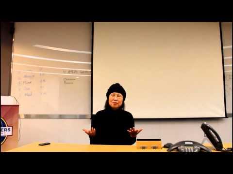 Hana Lee's AC#25 Speech- 'Health key, the growling sound(꼬르륵소리) from a stomach'
